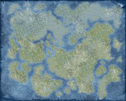 Blank World Map 1 by ThedasScholar
