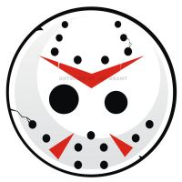 Friday the 13th Button Art by HeadsUpStudios