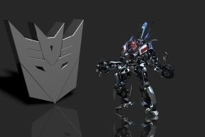 Sideways Transformers (Decepticon) by PlaviDemon