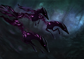 Shadow Hounds by DigitalCrest