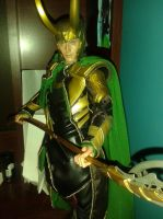 Hot Toys Loki by YazVolKanik