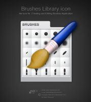 Brushes Library icon by AndexDesign