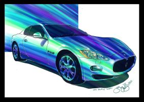 marker rendering car by ls2-TheBloodOfPeace