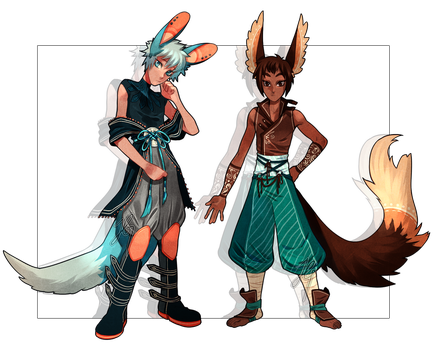 Adopts 19-20 [Auction- closed] by sandflake-adoptables