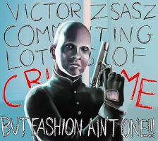 Zsasz with class by LauraFMeis