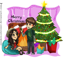 Marked :: Stark and Zoey x-mas by sasukee23loveeer
