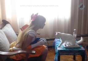 Sailor Venus: Someplace to Be by VandorWolf