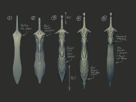 Sword Test by marcnail