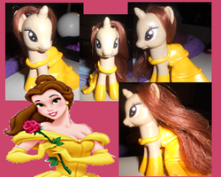 My Little Pony Custom: Belle by youngsango13