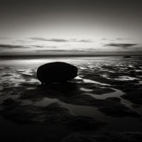 Pools and rock Study III by pedroinacio