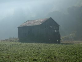aging barn by shod
