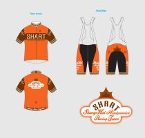 SHART racer Jersey and Shorts by braillce