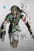 Link (The Legend Of Zelda) color by CodyBad