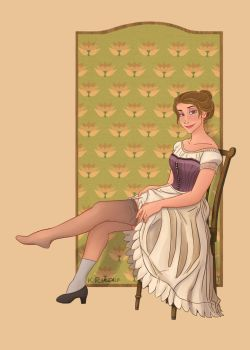 Jane's Boudoir by kcimaginary