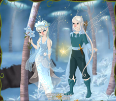 Pixie Scene Maker: Snow Fairies by AzaleasDolls