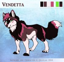 Vendetta - Reference Sheet by Quaylak