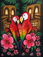 For the Love of ParrotHeads by rawjawbone