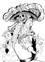 Calaca Catrina and friends by serge-em