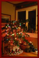 Christmas at our house 2009... by LadyAliceofOz