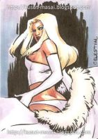 PSC Emma Frost, again by Celestial4ever