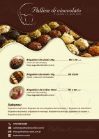 Flyer Palline Di Cioccolato by zecah