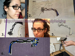 Bayonetta 2 - The glasses TUTORIAL by JudyHelsing