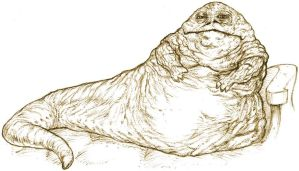 Jabba The Hutt by BongzBerry