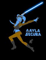 Aayla Secura by EmSeeSquared