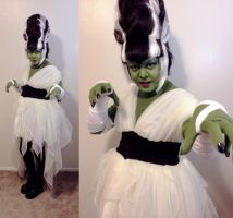 Halloween 2015 - Bride of Frankenstein by DovSherman