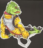 Bossk never played dominos, wh by jaimie13