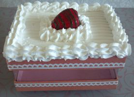 Strawberry Cake Box SOLD by ninja2of8