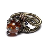 Steampunk Ring Relic by CatherinetteRings