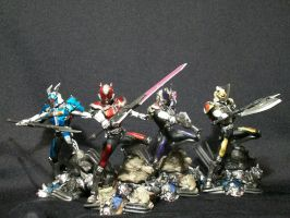 SIC Den-O Forms by ZIX89