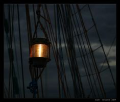 By lamplight by Tindome