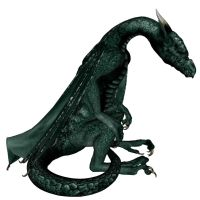 Dragon Green Aug 26D by markopolio-stock