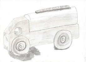 Friday Drawing - Wheels by wingstopboy
