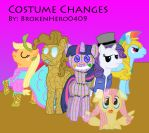 Costume Changes title page by brokenhero0409