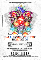 Ed Hardy Fashion Show flyer by DeityDesignz
