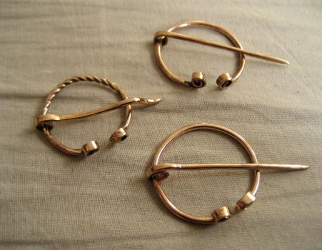 Early Medieval Bronze Brooches by tanjaESK