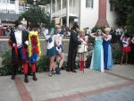 Katsucon 2013 Sailor moon photoshoot couples by VocaloidBrit