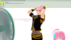 Question 28 for Luka and Luki by AskTheMegurines