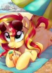Summer Sunset by Adlynh