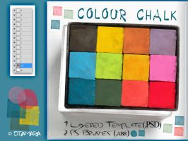 Colour Chalk by Diamara
