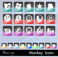 Monkey Icons by jbongo