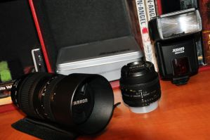 New Gadgets for the D90 by masternoname