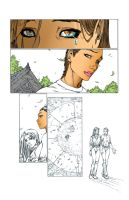 Tomb Raider 25 pg4 coloring by cantudesigns