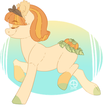 Persimmon Fruit-Booty by Thomisus