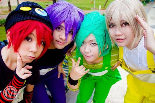 Teen Teletubbies: Say Hello by rinsuzume
