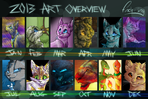 2013 Art Overview by Finchwing