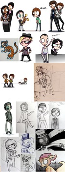Doodle Collection 5 by starblinx